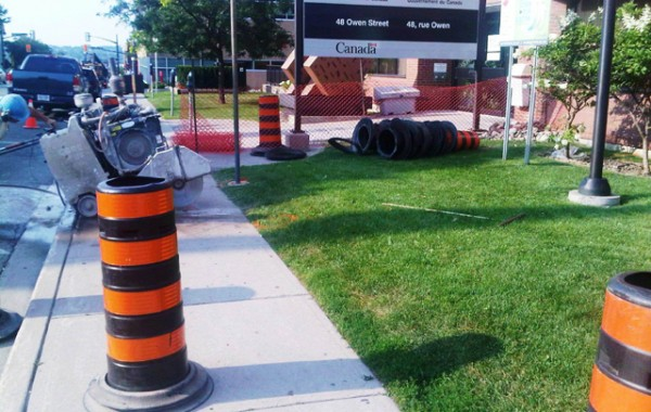 Government of Canada Building – Water Main Upgrade